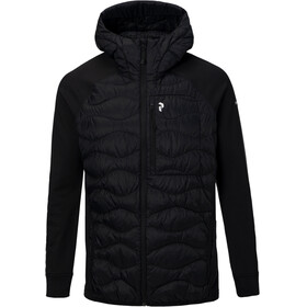 Peak Performance Helium Hybrid Down Hood Jacket Men black